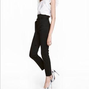 Pants - H&M Black High Waist Pants